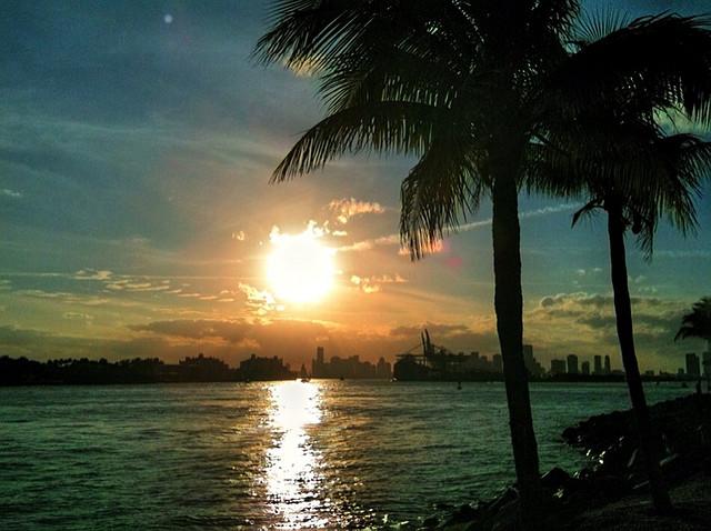 Miami Beach Intracoastal at Dusk