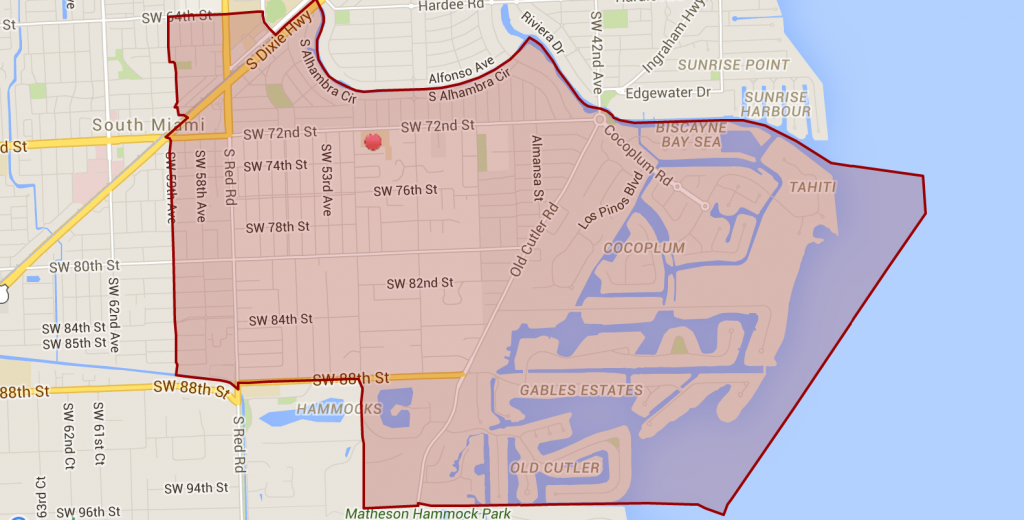 Sunset Elementary Boundaries