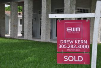 Drews sold sign